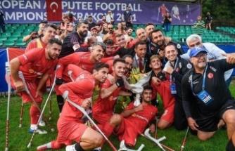 Ampute Futbol Milli Takımımız üst üste ikinci kez Avrupa şampiyonu oldu