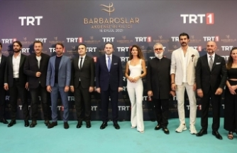 'Barbaroslar Akdeniz'in Kılıcı' ilk bölümüyle TRT 1'de izleyiciyle buluştu