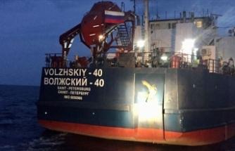 Boğaz çıkışında kuru yük gemisi ile balıkçı teknesi çarpıştı