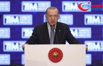 Cumhurbaşkanı Erdoğan: İhracattaki başarılarımız milli motivasyon kaynağımız haline geldi