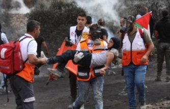 İsrail askerlerinden Nablus'ta Filistinlilere sert müdahale: 217 yaralı