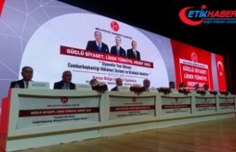 MHP Genel Başkan Yardımcısı Kalaycı, partisinin Konya'daki Bölge İstişare Toplantısı'nda konuştu: