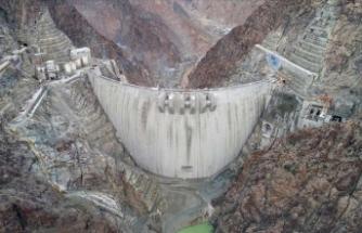 Yusufeli Barajı ve HES inşaatında yüzde 91'lik fiziki gerçekleşme