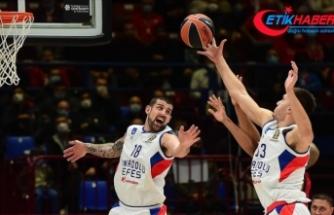 Anadolu Efes THY Avrupa Ligi'nde yarın Zalgiris'i konuk edecek