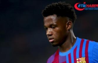Barcelona 1 milyar avroluk bonservisle Ansu Fati'nin sözleşmesini yeniledi
