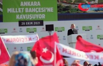 Cumhurbaşkanı Erdoğan: 2053 vizyonumuzun hedefi olan 'Yeşil Kalkınma Devrimi'nin lokomotif şehri Ankara olacak