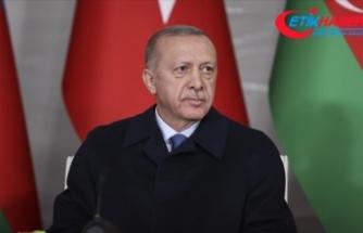 Cumhurbaşkanı Erdoğan: (Azerbaycan-Ermenistan ilişkileri) Kalıcı barış için ortam bugün hiç olmadığı kadar elverişli
