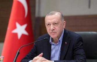 Cumhurbaşkanı Erdoğan'dan büyükelçilere Kavala tepkisi