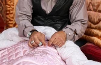 Hazır yorganlar kırk yıllık ustanın 'işini ve aşını' elinden alıyor