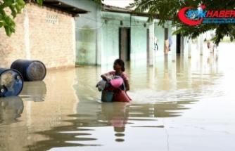 Hindistan'ın güneyi ve kuzeyindeki sel felaketinde 85 kişi öldü