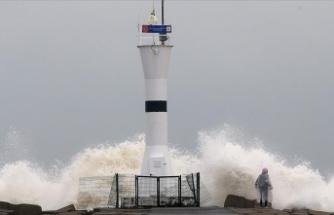 Karadeniz kıyıları için kuvvetli yağış uyarısı