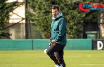 Medipol Başakşehir Teknik Direktörü Emre Belözoğlu takımına güveniyor