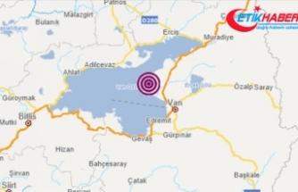 Van'da 4,1 büyüklüğünde deprem oldu