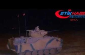 Habur'da Irak askerleri ile tatbikatta gece manevrası