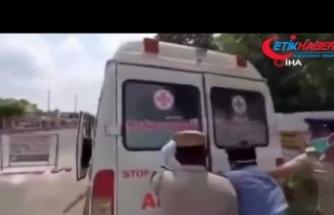 Hint polisi yine ilginç bir ceza yöntemine başvurdu