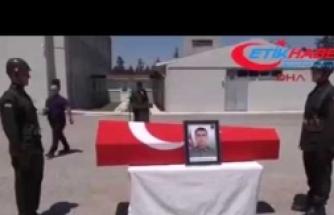Kazada şehit olan er Çınar Taş'ın cenazesi Kahramanmaraş'a uğurlandı