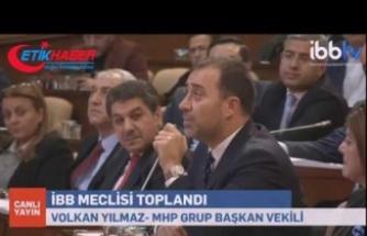 MHP'li Belediye Başkanı Yılmaz'dan, İP sözcüsüne Tokat gibi cevap