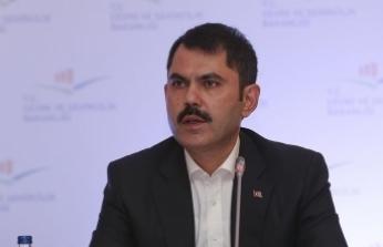 Çevre ve Şehircilik Bakanı Kurum: İmar barışında 2 milyar 800 milyon civarında para toplandı
