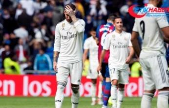 Real Madrid'de kötü gidiş sürüyor