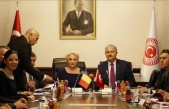 Romanya Başbakanı Dancıla TBMM'de