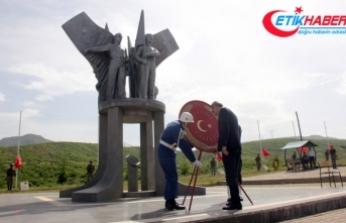 Bingöl'de şehit 33 er törenle anıldı