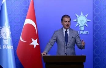 AK Parti Sözcüsü Çelik: Kadına ve çocuğa dönük şiddete karşı yeri göğü inletmemiz lazım