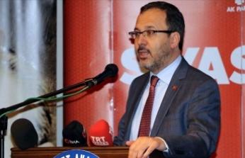 Bakan Kasapoğlu AK Parti Siyaset Akademisi açılış dersine katıldı