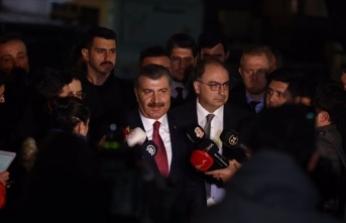 Sağlık Bakanı Koca: Tetkiklerde pozitif çıkan herhangi bir hastamız olmadı