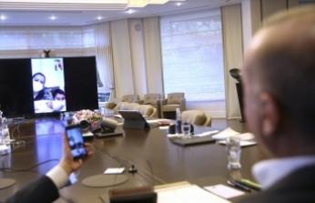 Cumhurbaşkanı Erdoğan, karantina sürecinde doğum yapan Sevda Gül'ü tebrik etti