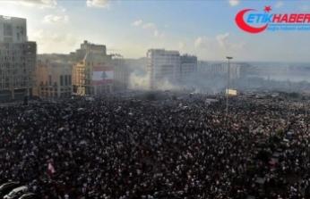 Beyrut'taki gösterilerin bilançosu: 1 ölü, 238 yaralı