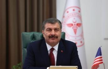 """Sağlık Bakanı Koca: """"Evde geçirdiğiniz zaman arttıkça mücadele gücümüz artacak"""""""
