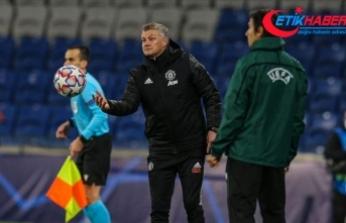 Manchester United Teknik Direktörü Solskjaer: İstanbul'daki yenilgi büyük bir darbe oldu