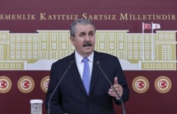 BBP Genel Başkanı Destici: Öncelikle ve ivedilikle TBMM'nin teröristlerden temizlenmesi gerekiyor