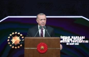 Cumhurbaşkanı Erdoğan İnsan Hakları Eylem Planı'nı kamuoyuna açıkladı