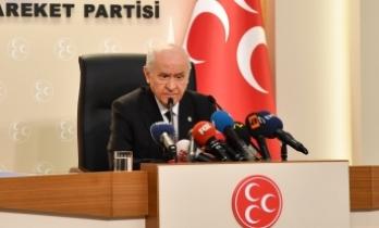 MHP Lideri Bahçeli: İsmail Küçükkaya, tarafsız değildir, samimi değildir, yeterli hiç değildir