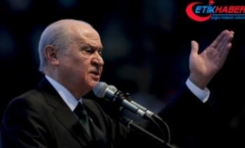 MHP Lideri Bahçeli: Anayasa Mahkemesi, PKK'lı teröristler toplanıp müracaat etseler onları da hak ihlali şemsiyesi altına alacak mı?