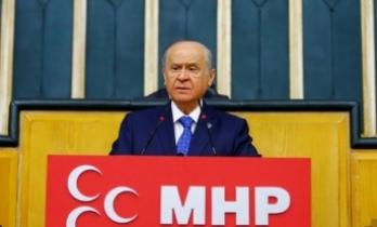 MHP Lideri Bahçeli: Türkiye kum torbası değildir, başına vurulup ekmeğinin alınacağı bir ülke değildir
