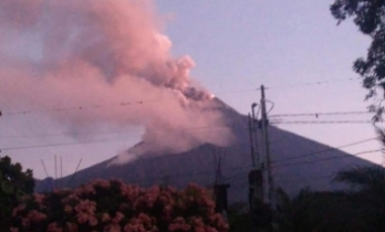Guatemala'daki Fuego Yanardağı faaliyete geçti