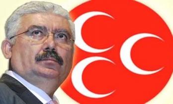 """MHP Yalçın'dan CHP'li Özgür Özel'e: İftira şampiyonluğunda başı, çatal dilli """"oynak politikacı"""" Özgür Özel tutmaktadır"""