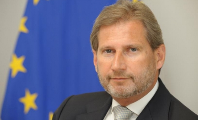 AB Komiseri Hahn: Türkiye'nin üyeliği giderek gerçek dışı olmaya başladı