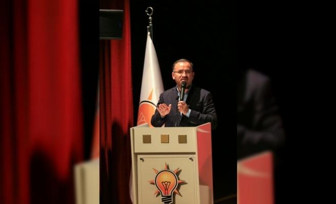 Adalet Bakanı Bozdağ: Halk cumhurbaşkanını seçiyor, o da takımını kuruyor