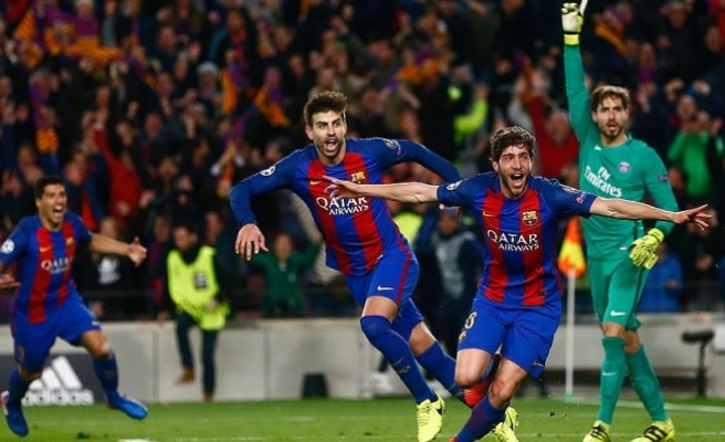 Barcelona'dan tarihi galibiyet