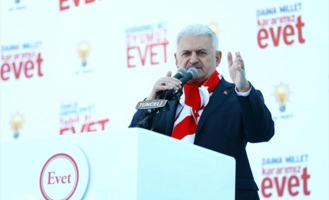 Başbakan Yıldırım: CHP aynı tas aynı hamam