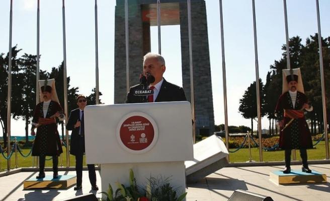 Başbakan Yıldırım'dan Kılıçdaroğlu'na ''Dersim' mesajı