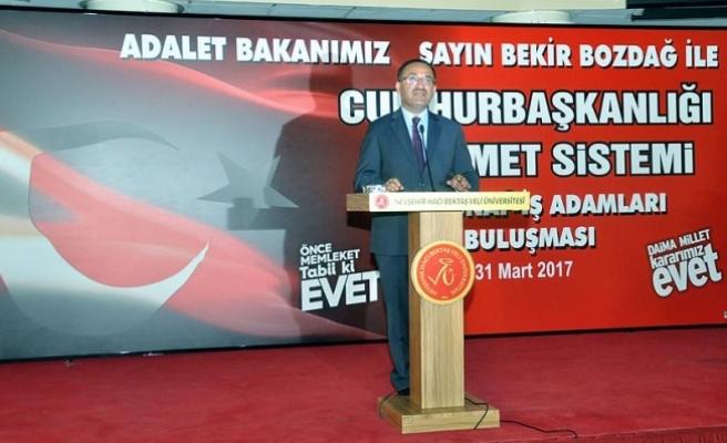 Bozdağ: 10 civarında terör örgütüyle mücadele eden yegane ülke Türkiye'dir