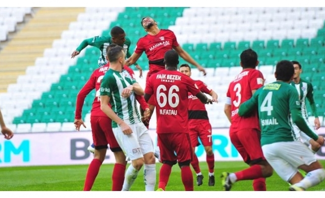 Bursaspor, Gaziantepspor'u 2-1 Yendi