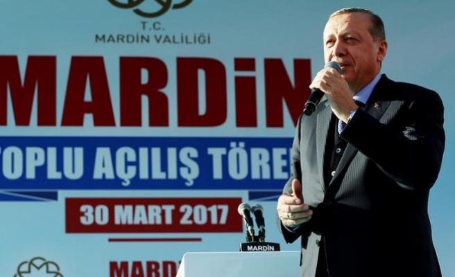 Cumhurbaşkanı Erdoğan: Artık bu ülkede hiçbir teröriste rahat yoktur