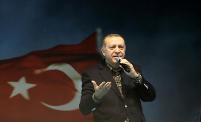 """Cumhurbaşkanı Erdoğan'dan Almanya'ya tepki"""" Uygulamalarınız Nazi uygulamalarından farklı değil"""""""