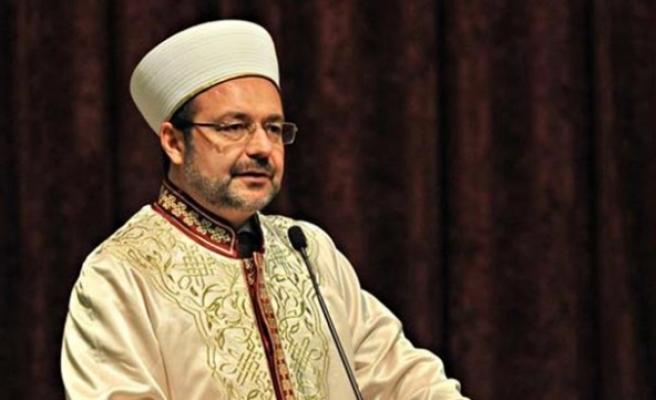 """Diyanet İşleri Başkanı Görmez: Din emniyeti tehlike ve tehdit altında"""""""