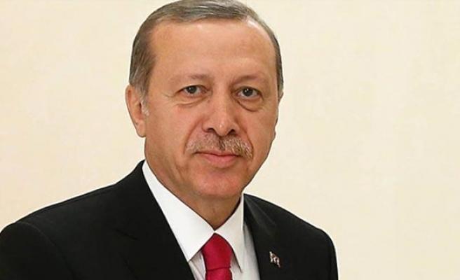 Erdoğan, altın madalya kazanan Ertürk'ü kutladı